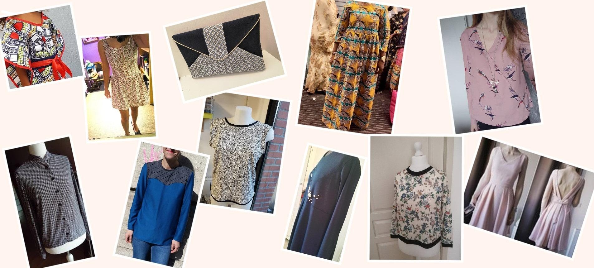 e0a0e21287bb6 Cours de couture en ligne - Créer vos propres vêtements et accessoires